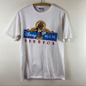 Vintage 1990s MGM Disney Studios Graphic T Shirt